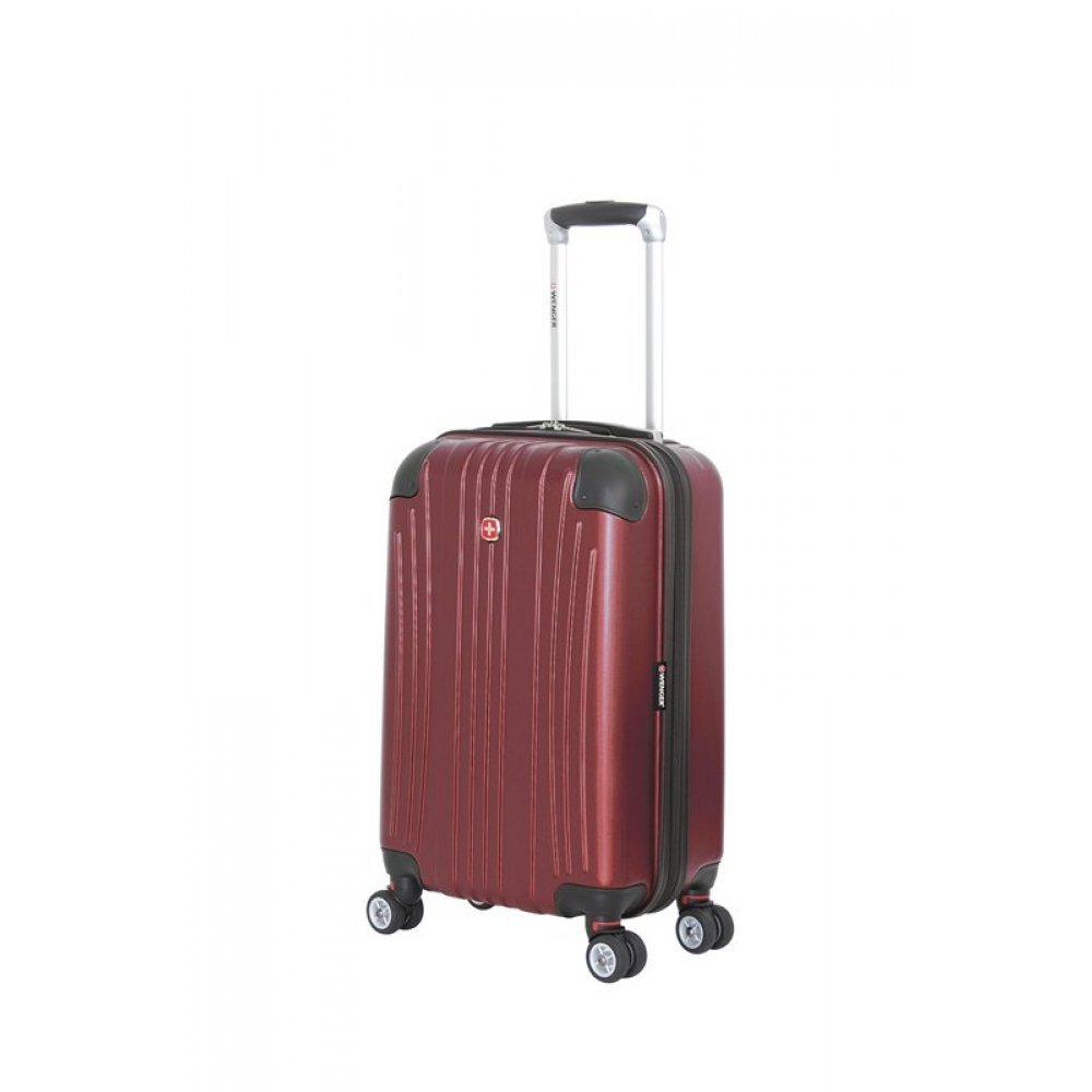 Чемодан WENGER Ridge, цвет бордовый, АБС-пластик, 34х24x54 см , 31л 6171121154