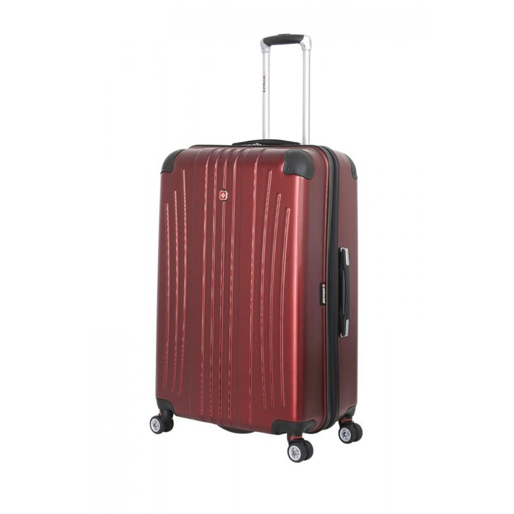 Чемодан WENGER Ridge, цвет бордовый , АБС-пластик, 49.5х30.5х75 см , 92л 6171121175