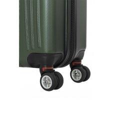 Чемодан WENGER Ridge, цвет зелёный , АБС-пластик, 47х30.5х75 см , 92л 6171646175