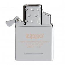 Газовый вставной блок для широкой зажигалки Zippo, двойное пламя, нержавеющая сталь
