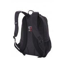 Рюкзак WENGER, чёрный, полиэстер 600D, 33x16.5x46 см, 26л 6639202408