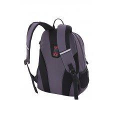 Рюкзак WENGER, серый/чёрный, полиэстер 600D/хонейкомб, 33x16.5x46 см, 26 л 6651414408