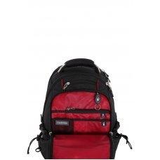 """Рюкзак WENGER, 15"""", чёрный/красный, полиэстер 900D/М2 добби, 34x23x48 см, 38 л 6677202408"""
