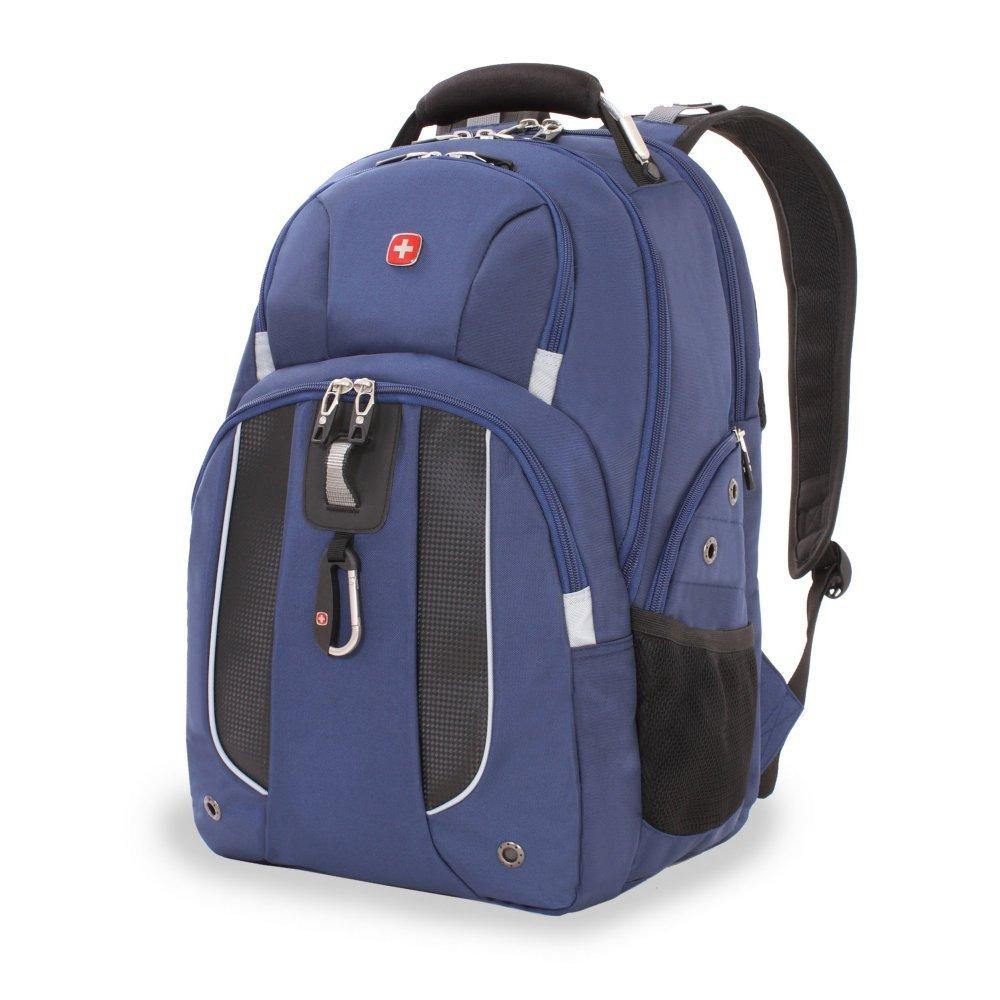 """Рюкзак WENGER, 15"""", синий, полиэстер 900D, 47х34х16.5 см, 26 литров 6918303408"""