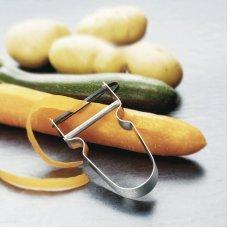 Нож для чистки картофеля VICTORINOX Rex, поворотное лезвие из нержавеющей стали, серебристый 7.6070