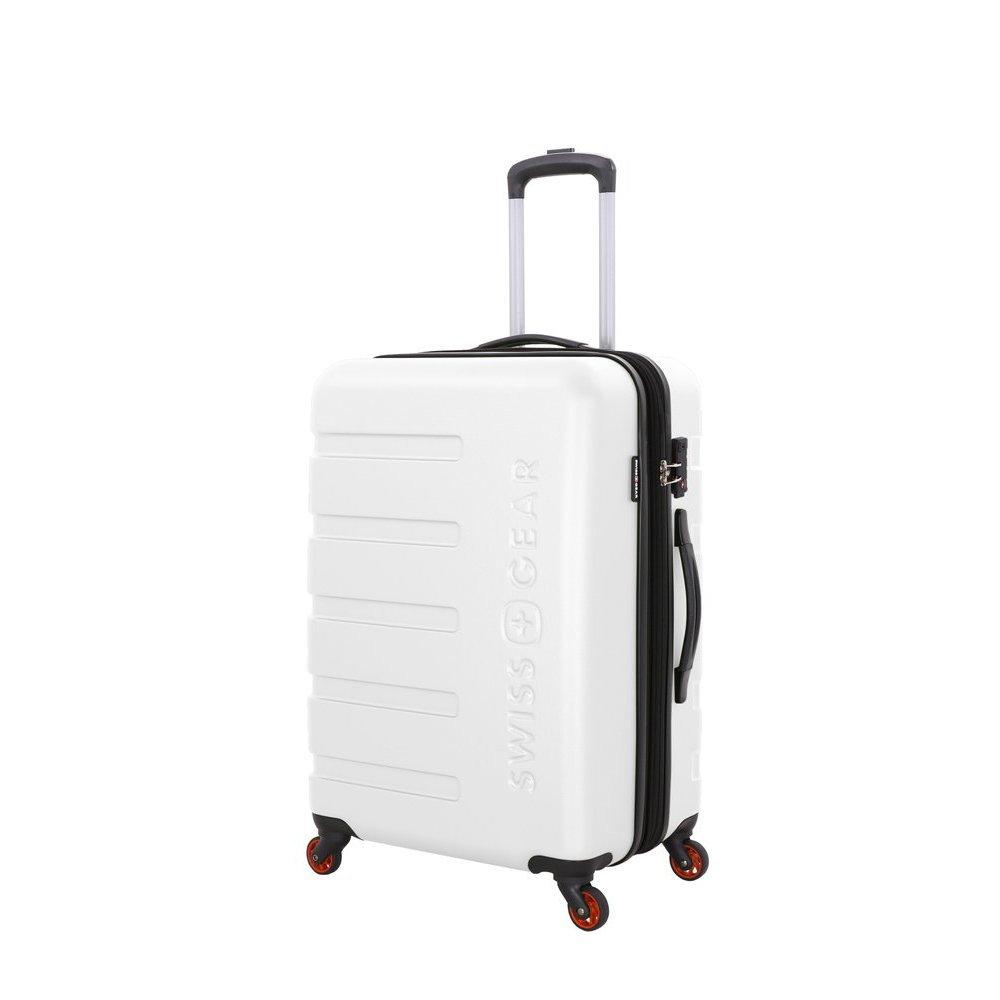 Чемодан SWISSGEAR TYLER, белый, АБС-пластик, 46 x 27 x 67 см, 64 л 7366100167