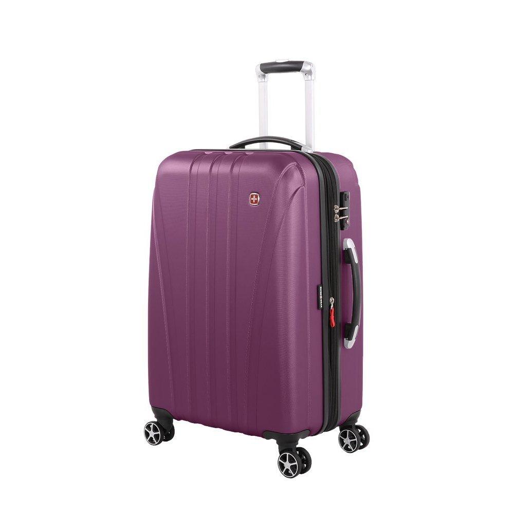 Чемодан SWISSGEAR TALLAC, фиолетовый, АБС-пластик, 46 x 28 x 68 см, 65 л 7585909167