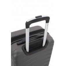 Чемодан SWISSGEAR ALVERSTONE, серый, АБС-пластик, 35 x 25 x 55 см, 37 л 7790444152