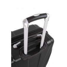 Чемодан SWISSGEAR ADAMS, черный, АБС-пластик, 46 x 27 x 67 см, 64 л 7798202167