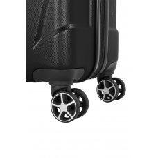 Чемодан SWISSGEAR ADAMS, черный, АБС-пластик, 52 x 31 x 78 см, 96 л 7798202177