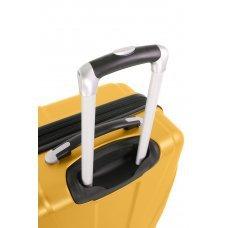 Чемодан SWISSGEAR ADAMS, желтый, АБС-пластик, 46 x 27 x 67 см, 64 л 7798217167