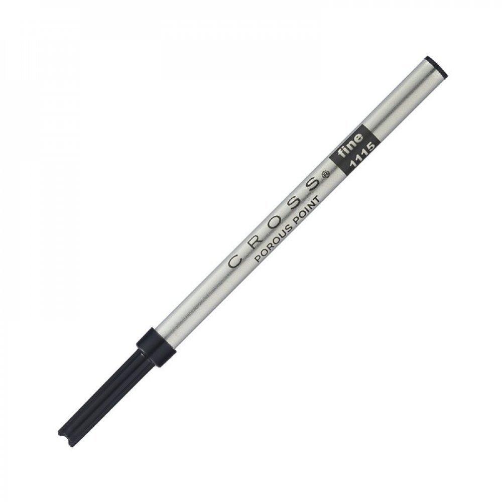 Стержень капиллярный Cross для роллеров Selectip, тонкий - 0.5мм, черный;  блистер 8444