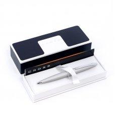 Шариковая ручка Cross ATX. Цвет - серебристый матовый. 882-1