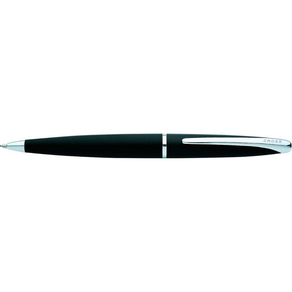 Шариковая ручка Cross ATX Цвет - матовый черный/серебро 882-3