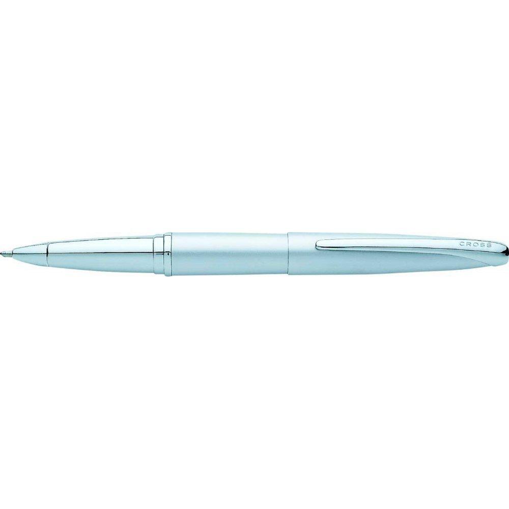 Ручка-роллер Selectip Cross ATX. Цвет - серебристый матовый. 885-1