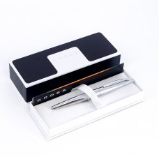 Ручка-роллер Selectip Cross ATX. Цвет - серебристый. 885-2