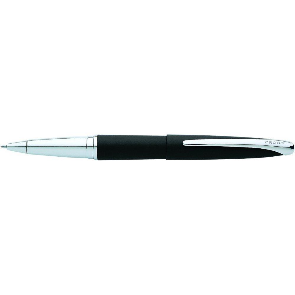 Ручка-роллер Selectip Cross ATX Цвет - матовый черный/серебро. 885-3