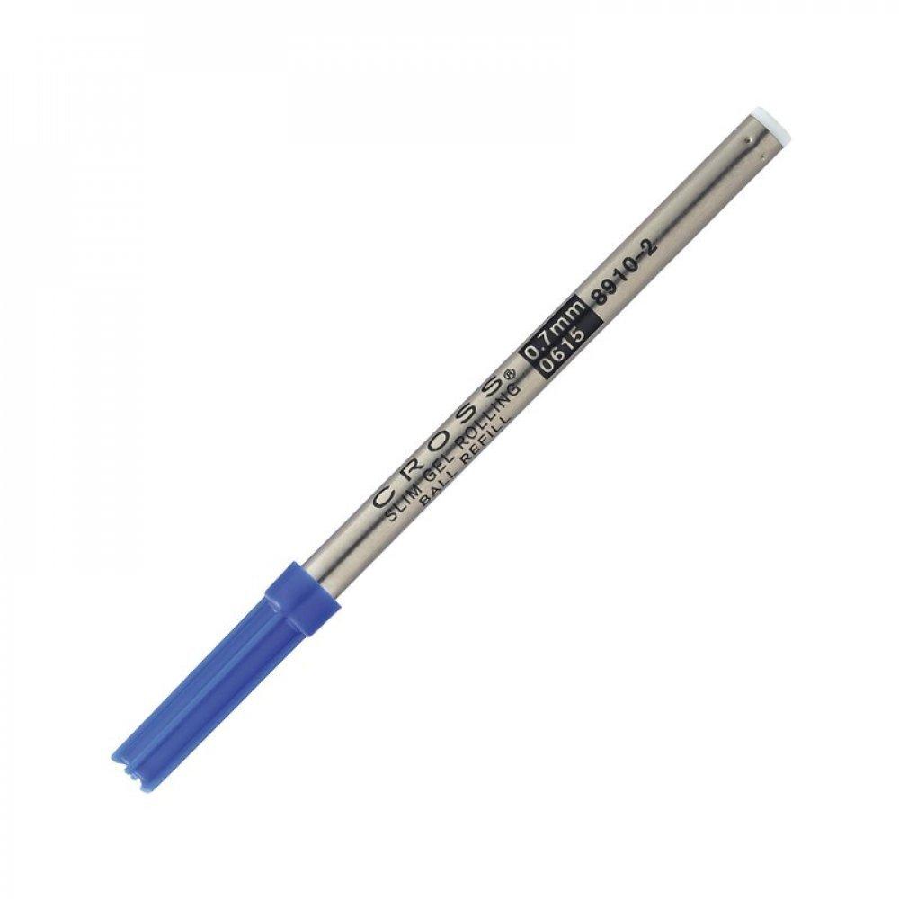 Стержень Cross для ручки-роллера Century Classic, Click, тонкий, синий; блистер 8910-2