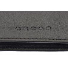 Чехол для кредитных и визитных карт Cross Classic Century, кожа наппа, фактурная, цвет - чёрный AC018036-1