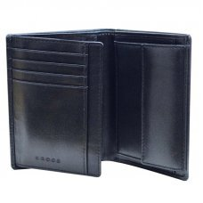 Бумажник большой Cross Classic Century с ручкой, кожа наппа, гладкая, чёрный, 10.5 х 1.5 х 12.5 см