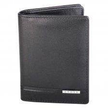 Обложка для кредитных карт Cross Classic Century, кожа наппа, гладкая, чёрный, 8 х 2 х 10.5 см AC018387-1