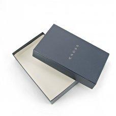 Обложка для документов, Cross Nueva FV с ручкой Cross, кожа наппа, фактурная, серый, 14 х 11 х 1 см AC028389-3