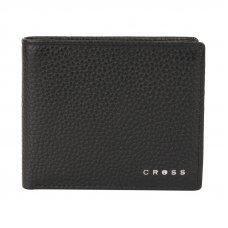 Кошелёк Cross Hudson Black, кожа наппа, фактурная, чёрный, 11 х 9 х 1.5 см AC1288072_1-1