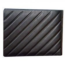Кошелёк Cross Grabado, кожа наппа, фактурная, чёрный, 11 х 1.5 х 9 см AC178072-1