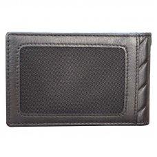 Держатель для денег Cross Grabado, кожа наппа, фактурная, чёрный, 11.5 х 1 х 7 см AC178377-1