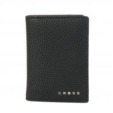 Визитница Cross Nueva Management Black, кожа наппа, фактурная, чёрный, 10.5 х 7.5 х 2 см AC2168544_2-1