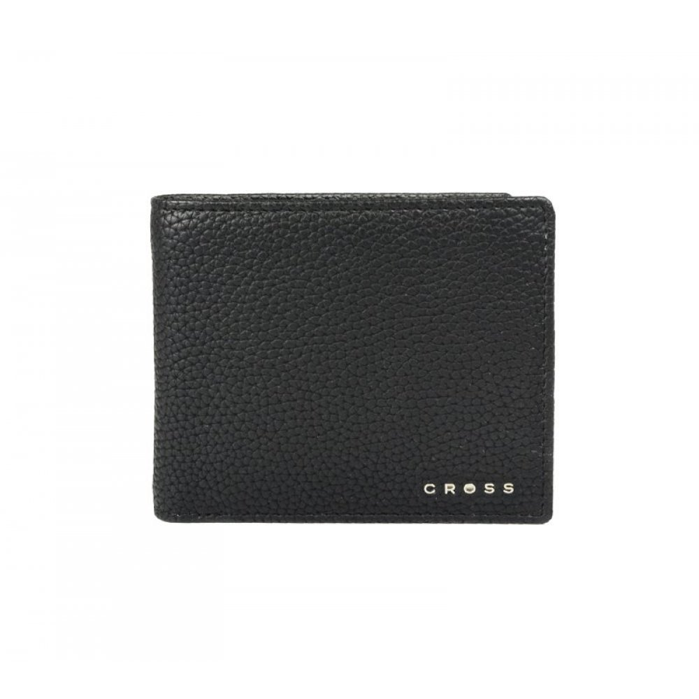 Кошелёк Cross Nueva Management Black, кожа наппа, фактурная, чёрный, 11 х 9 х 1.5 см AC2168547_2-1