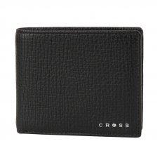 Кошелёк Cross RTC Black, кожа наппа, тисненая, чёрный, 11 х 9 х 1.5 см AC238072_1-1