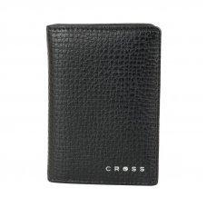Визитница Cross RTC Black, кожа наппа, тисненая, чёрный, 10.5 х 7.5 х 2 см AC238387_1-1