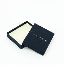 Кошелёк Cross Spanish Summer. Кожа наппа, фактурная, темно-серый, 19 х 10 х 1.9 см AC528092-16