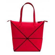 Сумка наплечная женская, Cross Origami, кожа наппа гладкая+ткань, цвет розовый, 31 х 26.3 х 10 см AC751301-5