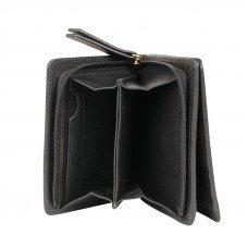 Кошелёк Cross Monaco Black, кожа наппа, гладкая, цвет чёрный, 11 x 9 x 2.5 см AC898083_1-1