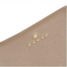 Кошелёк Cross Monaco Taupe, кожа наппа, гладкая, цвет бежевый, 11 x 9 x 2.5 см AC898083_1-11
