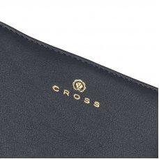 Кошелёк Cross Monaco Navy, кожа наппа, гладкая, цвет тёмно-синий, 11 x 9 x 2.5 см AC898083_1-5