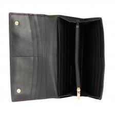 Кошелёк Cross Monaco Black, кожа наппа, гладкая, цвет чёрный, 20 x 11 x 2.5 см AC898288_1-1