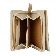 Кошелёк Cross Kelly Wall Ivory, кожа наппа, гладкая, цвет слоновая кость, 11.2 x 9.4 x 2 см AC928083_1-16