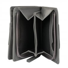 Кошелёк Cross Kelly Wall Stone, кожа наппа, гладкая, цвет серый, 11.2 x 9.4 x 2 см AC928083_1-18