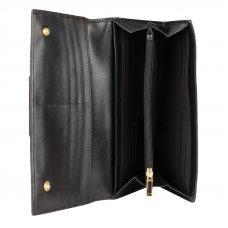 Кошелёк Cross Kelly Wall Black, кожа наппа, гладкая, цвет чёрный, 20 x 11 x 2.5 см AC928288_1-1