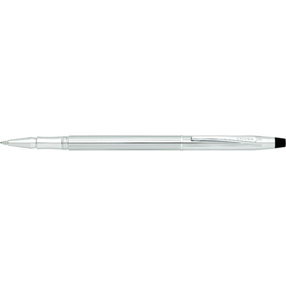 Ручка-роллер Cross Century Classic. Цвет - серебристый. AT0085-74