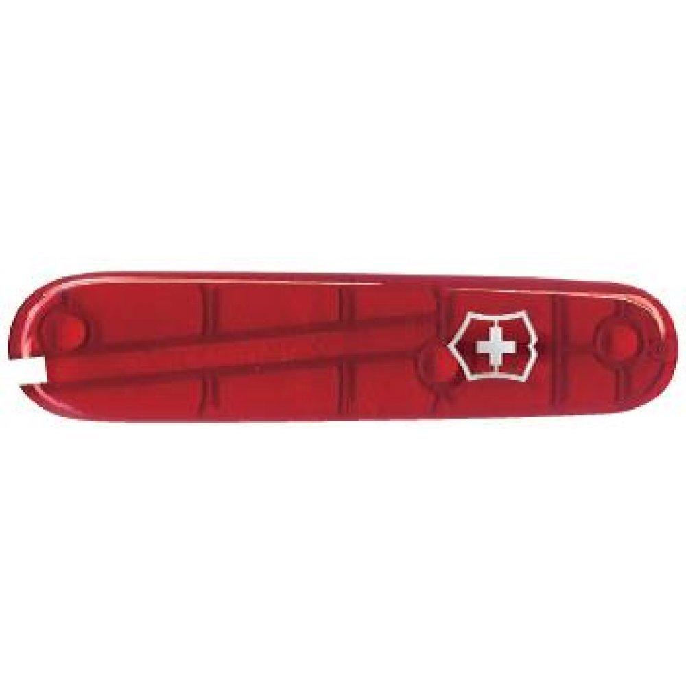 Передняя накладка для ножей VICTORINOX 84 мм, пластиковая, полупрозрачная красная C.2600.T3