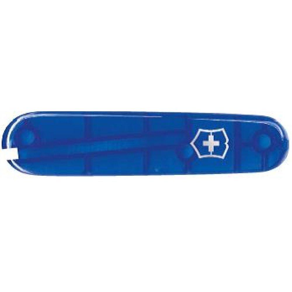 Передняя накладка для ножей VICTORINOX 84 мм, пластиковая, полупрозрачная синяя C.2602.T3