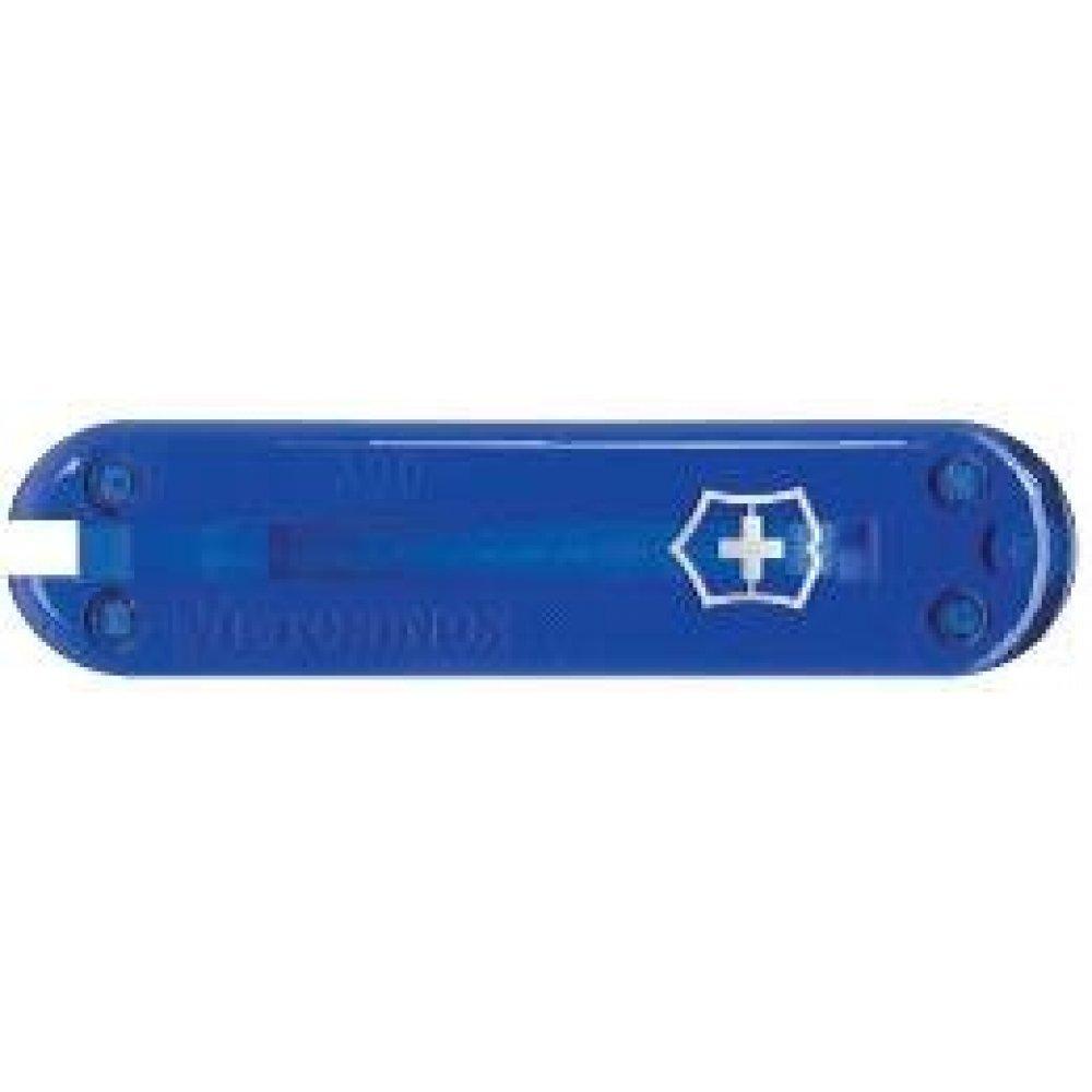 Передняя накладка для ножей VICTORINOX 58 мм, пластиковая, полупрозрачная синяя C.6202.T3