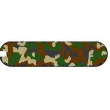 Задняя накладка для ножа VICTORINOX Classic SD (0.6223.94) 58 мм, пластиковая, зелёный камуфляж C.6294.4