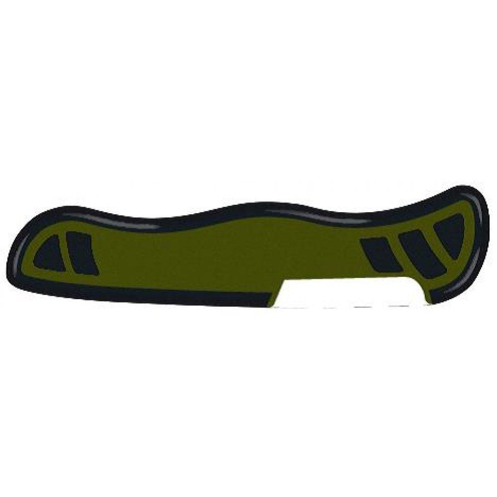 Задняя накладка для ножей VICTORINOX Swiss Soldiers Knife 08 111 мм, нейлоновая, зелёно-чёрная C.8334.C2