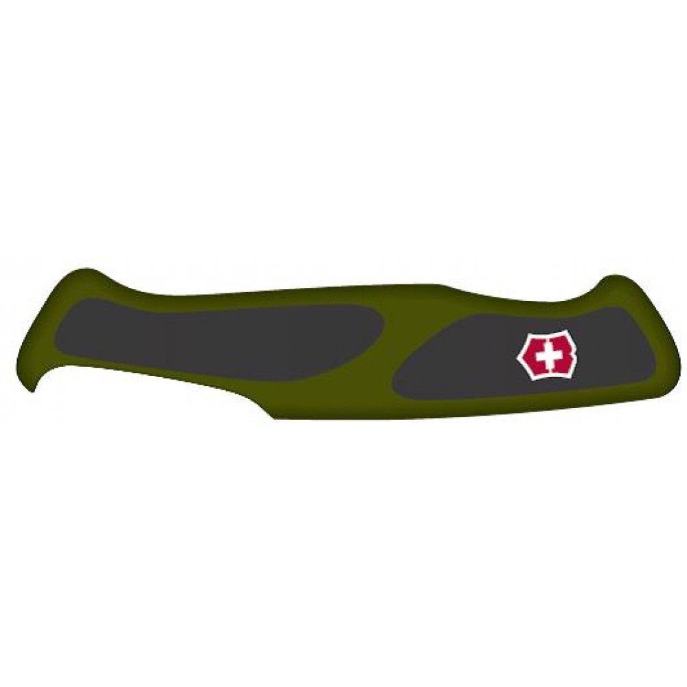 Передняя накладка для ножей VICTORINOX 130 мм, нейлоновая, зелёно-чёрная C.9534.C1