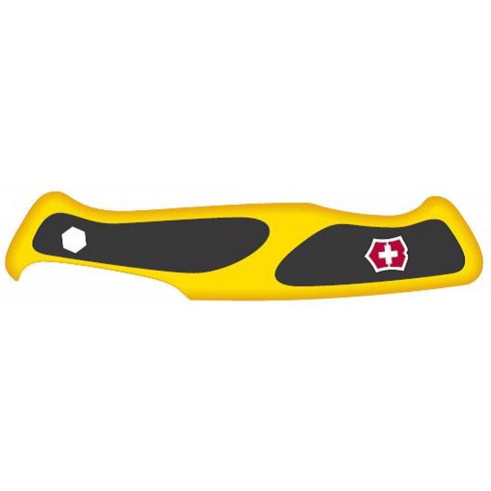 Передняя накладка для ножей VICTORINOX 130 мм, нейлоновая, жёлто-чёрная C.9738.C1